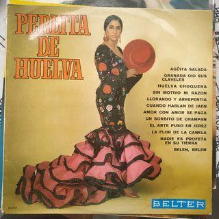 Disco vinilo de Perlita de Huelva
