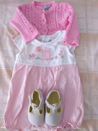 conjunto ropa bebé niña