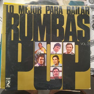 Disco vinilo de Rumbas