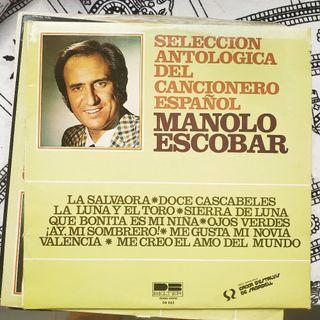 Disco vinilo Manolo Escobar Selección antologica