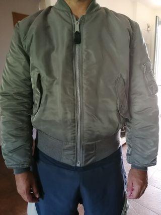 chaqueta alpha industries plata