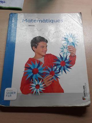 libro 1r de la ESO Matemáticas