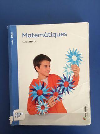 Libro matemáticas 1r ESO