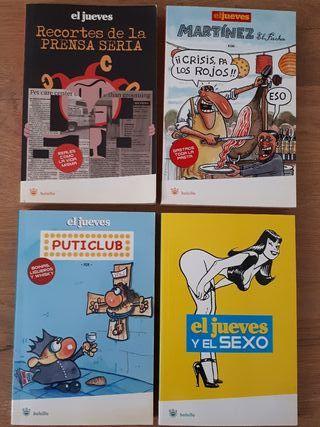 4 libros comics para adultos El Jueves