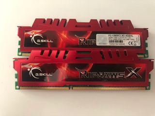 RAM DDR3 G.skill 2gb x2 1600hz