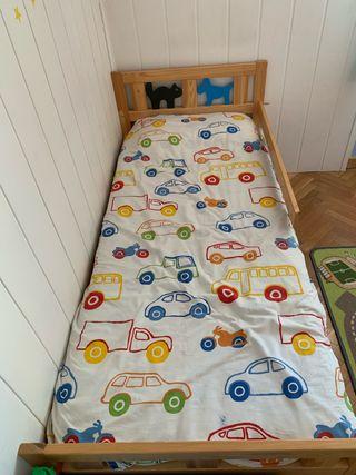 Cama infantil KRITTER Ikea.