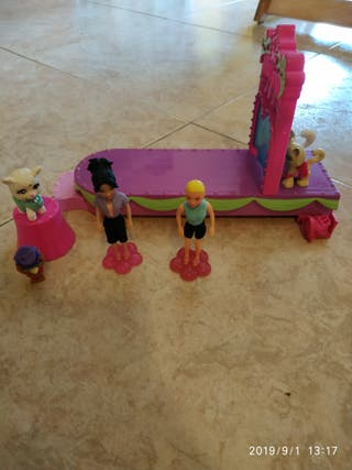 muñecas Polly Pocket concurso de mascotas