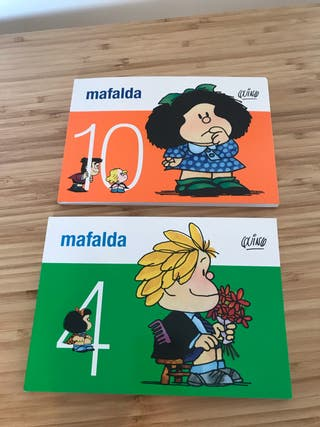 2 libritos tebeo de Mafalda