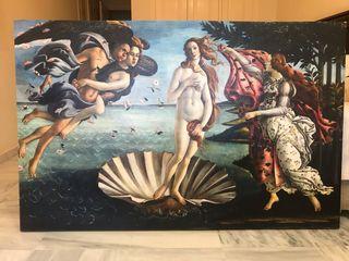 Cuadro el nacimiento de Venus