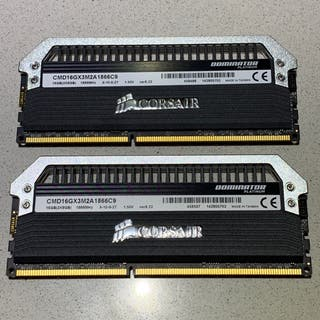 16 Gb Memoria DDR3 1866 mhz Corsair Dominator
