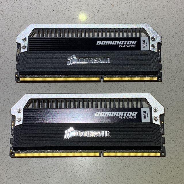 16 Gb Memoria DDR3 1866 mhz Corsair Dominator