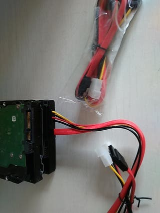 adaptador de disco duro SATA a Esata