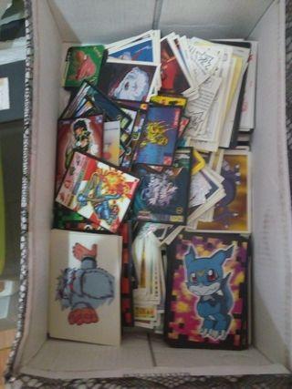 cientos de cromos de digimon y pokemon harry Potte