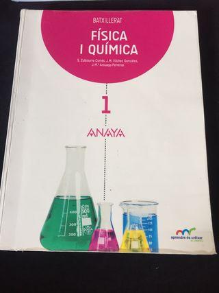 Libro de física y química primero de bachillerato