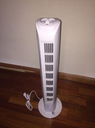Ventilador torre 78 cm Nuevo más sombrilla