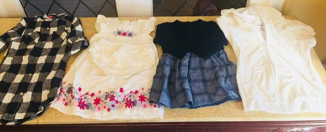 Bundle of baby girl clothes 6 months -3years