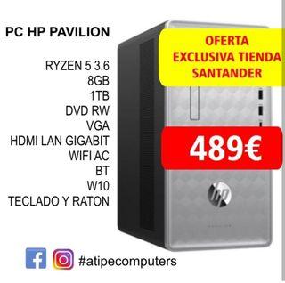 oferta ordenador sobremesa HP
