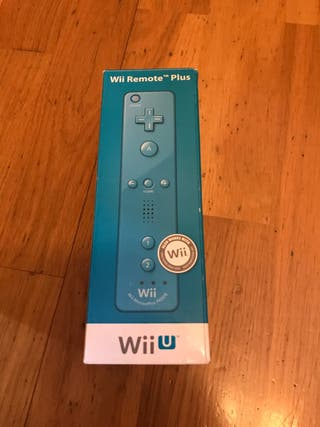Mando azul Wii U