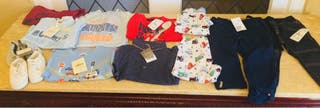 Bundle of baby boy clothes 12-18 mom