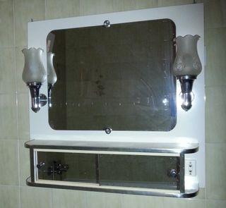 GANGA SOLO UNA SEMANA - Espejo vintage de baño