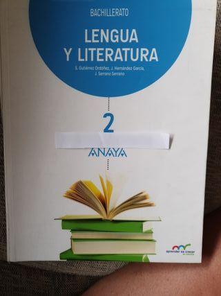 LENGUA Y LITERATURA Segundo Bachillerato