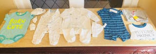 Bundle of Baby boy clothes 1-9 months