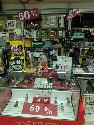 Liquidación tienda relojeria/joyeria/regalos