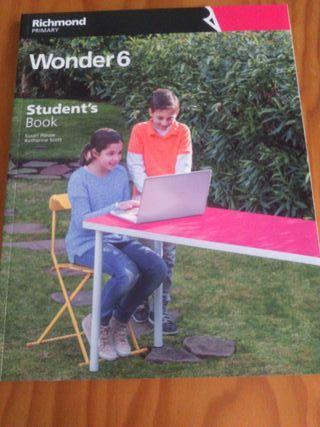 Wonder 6 Studen't book