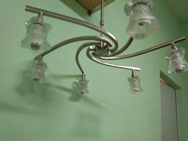 Lámpara led de techo.
