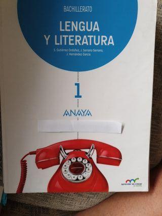LENGUA Y LITERATURA PRIMERO BACHILLERATO
