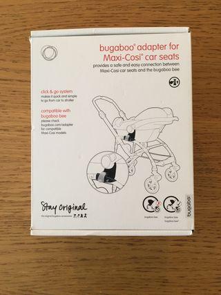 Adaptador Bugaboo para silla de coche Maxi-cosi