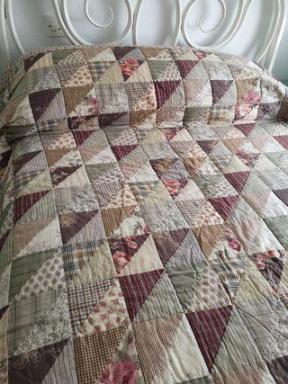 Colcha edredón patchwork