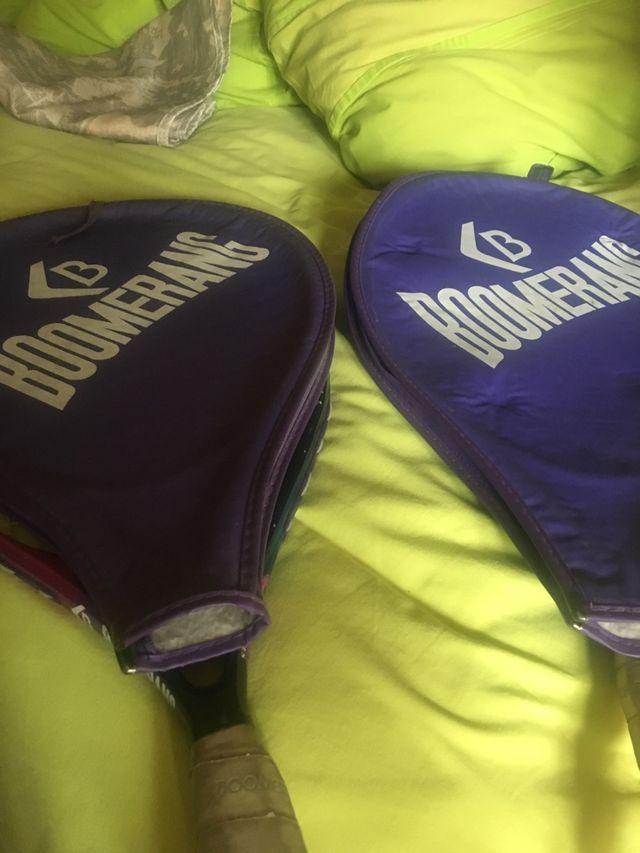 Raquetas tenis marca boomerang