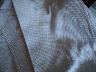 Kimono blanco Algodon. Adulto. 1,80. Artes Marcial