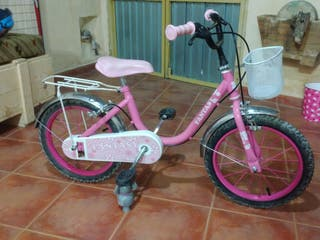 bicicleta niña rueda 18