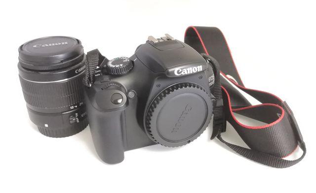 Cámara Canon 1100D + objetivo 18-55 f/3,5-5,6