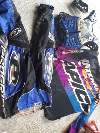 equipación motocross