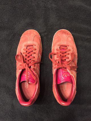 zapatillas adidas gazelle granate