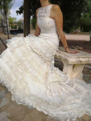 Yolan cris vestido novia