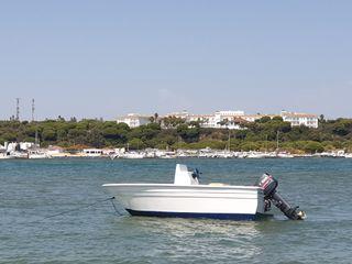 Barco 4m con motor