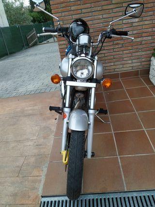 Moto Custom Kawasaki Eliminator 125