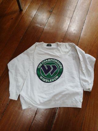 sudadera Wimbledon vintage