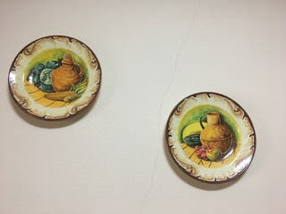 Platos de cerámica.Precio a convenir