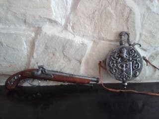 pistola antigua replica
