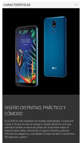 Espectacular Smartphone LG nuevo sin abrir!!