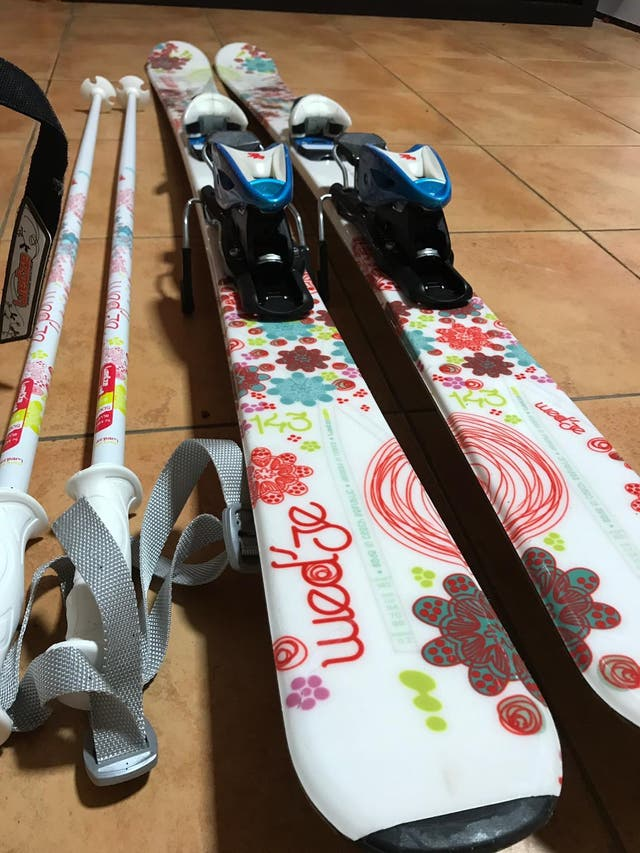 Equipo de esquí