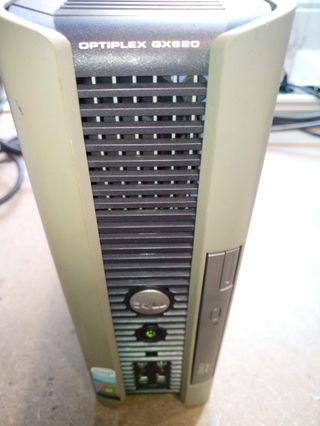 Equipo Dell Optiplex GX620 USFF (ultra reducido)