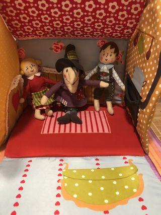 Casa muñecas Hansel y Gretel