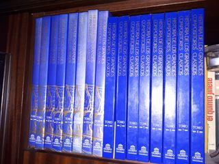 Colección HISTORIA DE LOS GRANDES COMPOSITORES