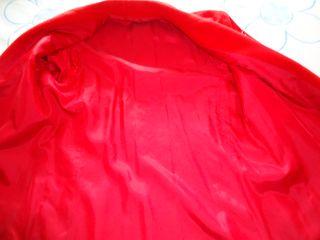 Chaqueton rojo. Paño talla 40-42